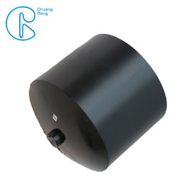 Bahan Baku Ployethylene Hdpe Fusion Fittings End Cap Dimensi Penuh